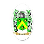 Skerrett Oval Car Magnet