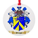 Skeggs Round Ornament