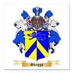 Skeggs Square Car Magnet 3