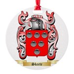 Skeete Round Ornament