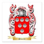 Skeete Square Car Magnet 3