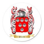 Skeete Round Car Magnet