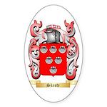 Skeete Sticker (Oval)