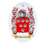 Skeete Oval Ornament