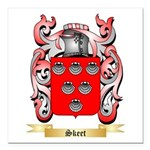 Skeet Square Car Magnet 3