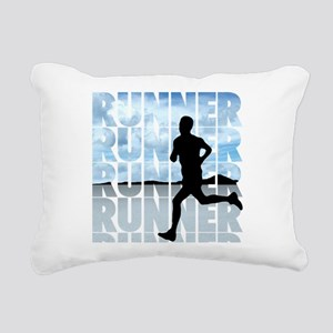 runner Rectangular Canvas Pillow