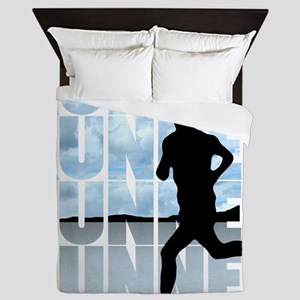 runner Queen Duvet