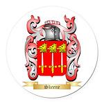 Skeene Round Car Magnet