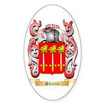Skeene Sticker (Oval 50 pk)