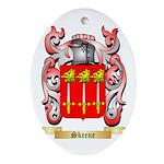 Skeene Oval Ornament