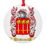Skeen Round Ornament