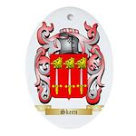 Skeen Oval Ornament