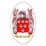 Skeats Sticker (Oval)