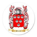 Skeate Round Car Magnet