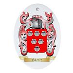 Skeate Oval Ornament