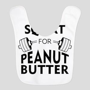 Will Squat for Peanut Butter Bib
