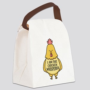 Chicken Whisperer Canvas Lunch Bag