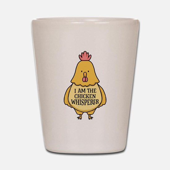 Chicken Whisperer Shot Glass