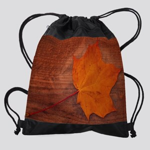 FALL LEAVES Drawstring Bag