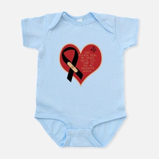God Heal Me Infant Bodysuit
