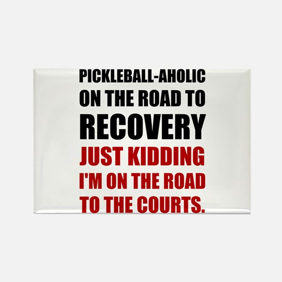 Pickleball Road To Recovery Magnets