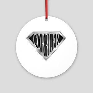 SuperCobbler(metal) Ornament (Round)