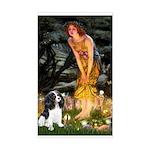 Fairies / Cavalier Sticker (Rectangle)