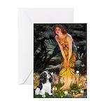 Fairies / Cavalier Greeting Card