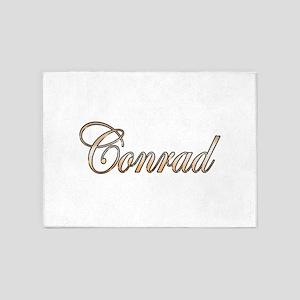 Gold Conrad 5'x7'Area Rug