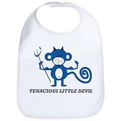 Tenacious Little Devil Bib