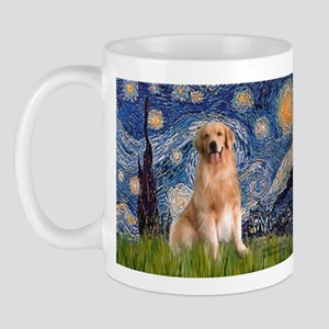 Starry Night / Golden Mug