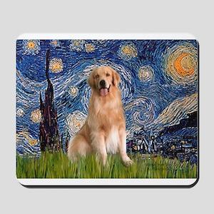 Starry Night / Golden Mousepad