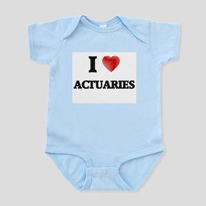 I love Actuaries Body Suit