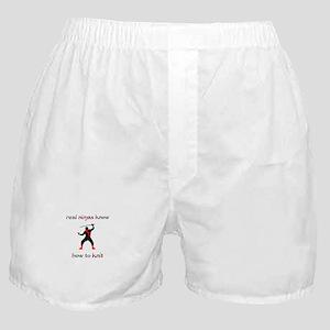 Real Ninjas Knit Boxer Shorts