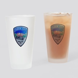 Heber City Police Drinking Glass