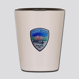 Heber City Police Shot Glass