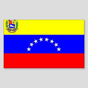 Venezuela Rectangle Sticker