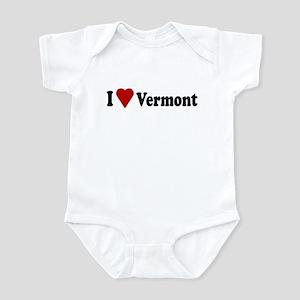I Love Vermont Infant Bodysuit