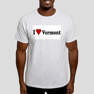 I Love Vermont Light T-Shirt