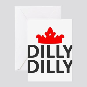 Crown Dilly Dilly Greeting Card