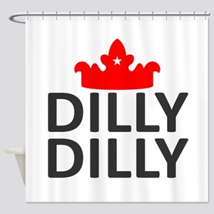 Crown Dilly Dilly Shower Curtain
