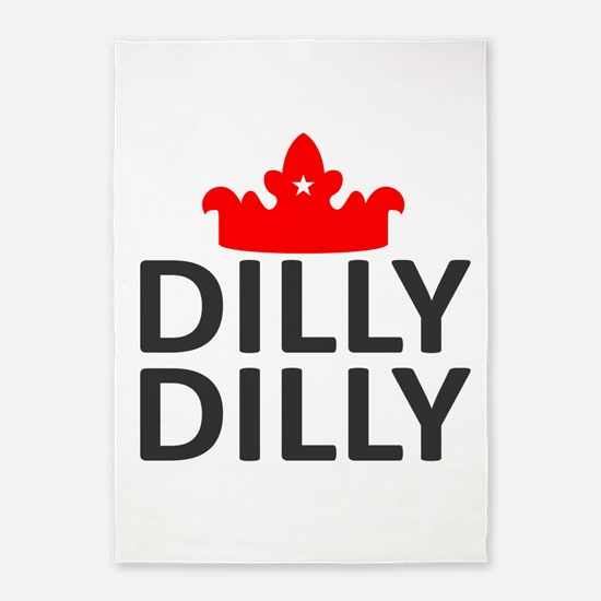 Crown Dilly Dilly 5'x7'Area Rug