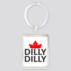 Crown Dilly Dilly Portrait Keychain