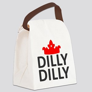 Crown Dilly Dilly Canvas Lunch Bag