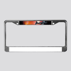 Triumphant Return License Plate Frame