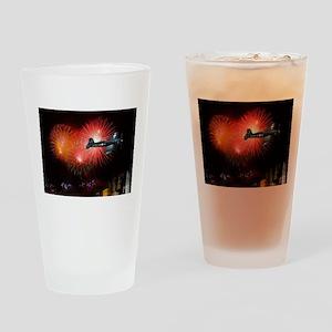 Triumphant Return Drinking Glass