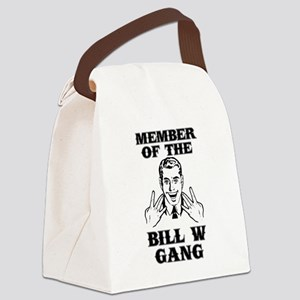 Bill W Gang Canvas Lunch Bag