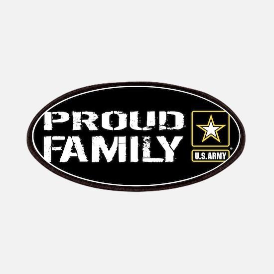 U.S. Army: Proud Family (Black) Patch