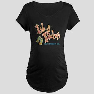 Isle of Palms - Maternity Dark T-Shirt