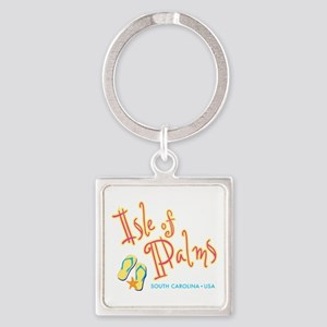 Isle of Palms - Square Keychain